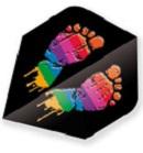 rainbowfeetmetallic